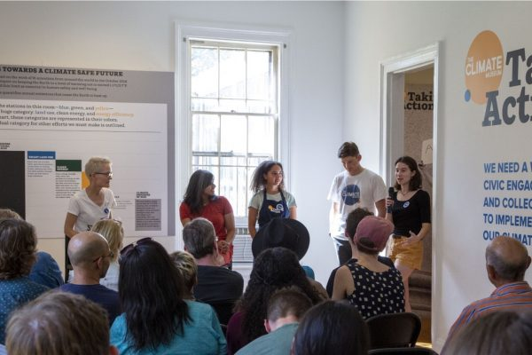 Climate museums: powering action