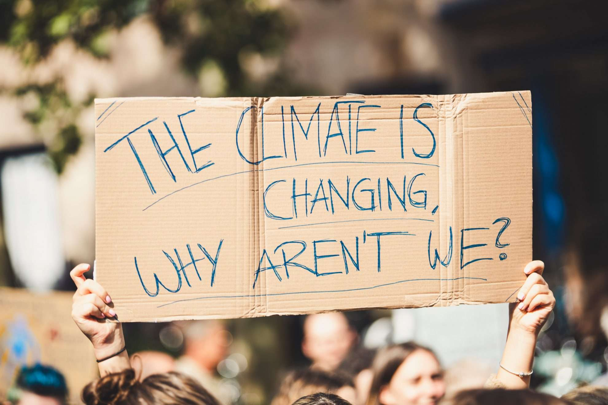 The Climate is Changing, Why Arn't We?