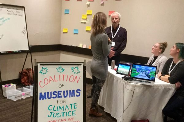 """How the Coalition """"Popped-Up"""" at a Conference – and found museum workers care about climate change"""